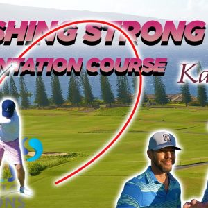 FINISHING STRONG AT THE KAPALUA PLANTATION COURSE IN MAUI!