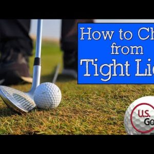 How to Chip from Tight Lies - Chipping Drills