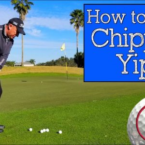 How to Cure the Chipping Yips with Your Golf Grip (CHIPPING DRILLS)