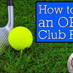 How to Fix an Open Club Face (Vertical Line Golf Swing)