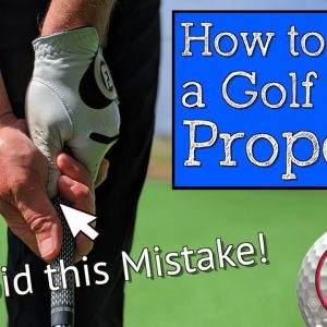 How to Grip a Golf Club - The Best Golf Grip for Straighter Shots
