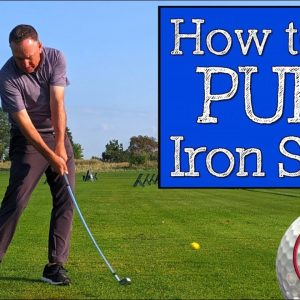 How to Hit Irons Pure with Ball First Contact