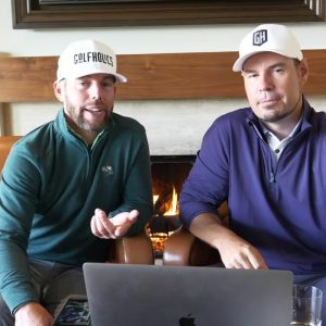 LIVE FROM PEBBLE!  FIRESIDE CHAT WITH BIG CAT & COACH