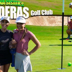 Maiya & Misa Take On Mr. ShortGame & Coach At Maderas!