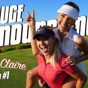 PARIS & CLAIRE ARE TAKING OVER GOLFHOLICS!