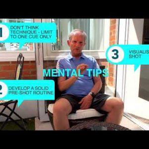 Three part golf result improvement - preparation course management mental tips
