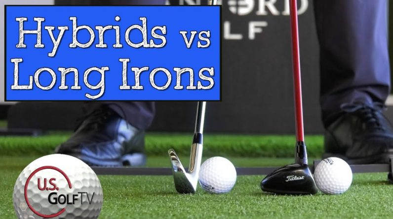 The Biggest Difference in Hitting Hybrids vs Long Irons
