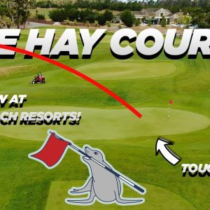THE NEW TIGER WOODS DESIGN! THE HAY COURSE AT PEBBLE BEACH RESORTS!