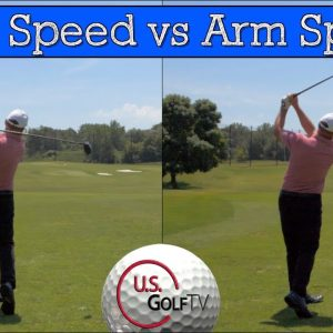 The Truth About BODY SPEED VS ARM SPEED for the Senior Golf Swing